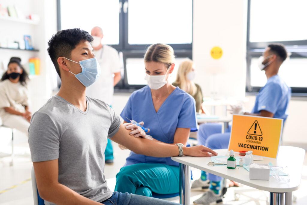 Inzet thuisverpleegkundigen in de vaccinatiecentra